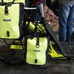Azub Reise-Liegerad mit Packtaschen